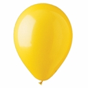 "5"" Yellow Latex Balloons 100 Per Bag"