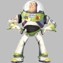 "54"" Fill Body Buzz Light Year Air Walker"