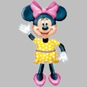 Full Size Minnie Mouse Foil Balloon AirWalker