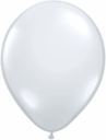 "9"" Qualatex Diamond Clear Latex Balloons 100ct"