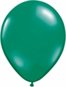"9"" Qualatex Emerald Green Latex Balloons 100ct"