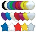 "9"" Mini Mylar/Foil Air Fill Balloons 1 Per Pack"