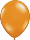"9"" Qualatex Mandarin Orange Latex Balloons 100ct"