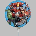 "9"" Avengers Mini AIR FILL ONLY Stick Balloons 1 Per Pack"