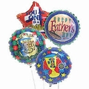 Mini Father's Day Foil Air Fill Balloons 1ct