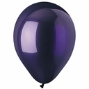 "9"" CTI Purple Latex Balloons 100 per bag"