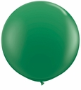 "96"" Green Large Round Latex Balloons"