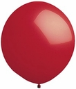 "96"" Red Large Round Latex Balloons"