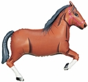"43"" Brown Horse balloon"