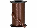 "Brown Wide Curling Ribbon 3/8"" x 750'"