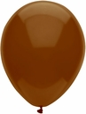 "Brown Latex Balloons 11"" BSA Chestnut Brown 100 bag"