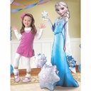 Life Size Elsa Air Walker Helium Foil Balloon