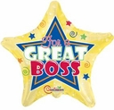 Great Job Balloons for Teachers-Boss- Employees-Nurse or nay one you want to give a balloon to Recognize Greatness