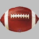 Official NFL License Foil Football Balloons