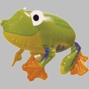 Friendly Frog Foil Balloon AirWalker