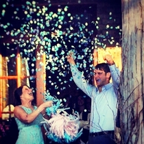 Gender Reveal Latex Balloons Confetti Included Scroll Down to Order