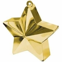 Gold Star Shape Balloon Weights 170 grams/6.2 oz