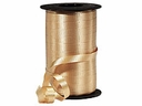 "Gold Wide Curling Ribbon 3/8""x750'"
