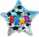 "18"" You Did It Grad Helium Foil Balloons 1 Per Package"