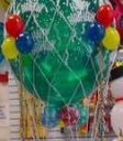 "Hot Air Nets Fit all 16""&17"" 24"" & 36"" Latex Balloons"