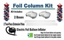 Foil Balloon Column Kit Re-Useable FREE SHIPPING