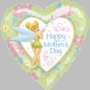 """18"""" Happy Mother's Day Tinkerbell 1pk"""