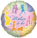 """18"""" Mother to Be Helium Foil Balloon 1ct"""
