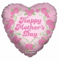 """18"""" Mother's Day Flowers Helium Foil Balloon 1ct"""