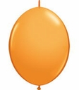"12"" Qualatex Quick Link Latex Orange Arch Balloons 50 per bag"