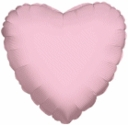 "Pink Heart Foil Balloons 18"" 1 per Pack"