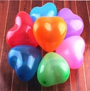 "6"" Qualatex Heart Shape Air Latex Balloons"