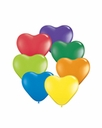 "6"" Qualatex Heart Shape Latex Balloons"