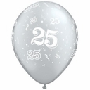 Qualatex Wedding Anniversary Printed Latex Balloons