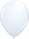 "5"" Qualatex White Latex Balloons 100 Per Bag"