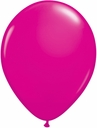 "5"" Qualatex Wild Berry Latex Balloons 100 Per Bag"