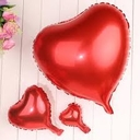 Red Heart Balloons Mylar Red Heart Balloons