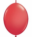"12"" Qualatex Red Quick Links Latex Arch Balloons 50ct"