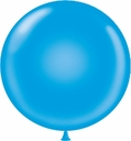 "Tuf-Tex Balloons 17"" Tuf Tex Blue Latex Balloons 72 Per Bag"