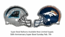 Super Bowl Balloons Official NFL License Foil Football Balloons