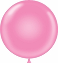 "Tuf Tex Balloons 17"" Tuf Tex Pink Latex Balloons 72 Per Bag"