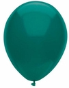"12"" Deep Turquoise Latex Balloons 15ct"