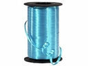 "Turquoise Wide Curling Ribbon 3/8"" x 750'"