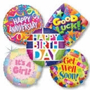 Wholesale Mylar-Foil Balloons Bulk Pricing 20 Per Package .48 cents per Balloon.
