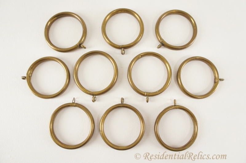 Curtains Ideas curtain rings brass : Brass Curtain Rings - Curtains Design Gallery