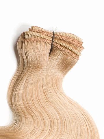 18 baby fine loose waves human hair extensions by wig pro