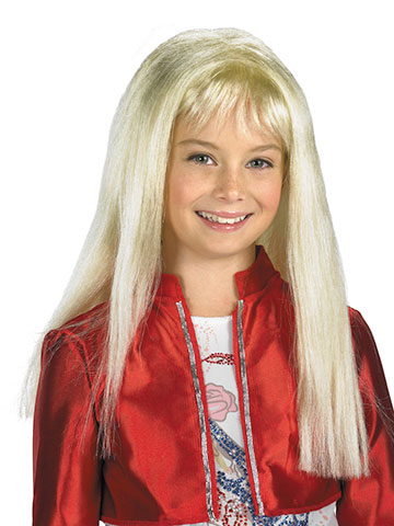 Hannah Montana Dress-Up Children's Costume Wig