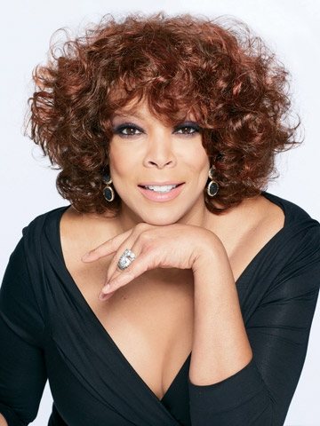 Layered Curly Wendy Williams Design Short Hairstyle 2013