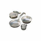Coleman 1 Person Aluminum Mess Kit Silver 2000016402