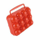 Coleman 12 Count Plastic Egg Carrier Red 2000014516