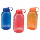 Coleman 16 Oz Rectangle PC Bottles Blue/Red/Orng 2000016357